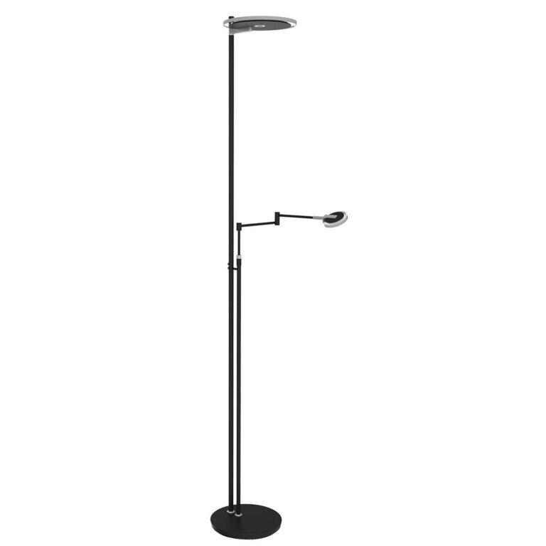 Vloerlamp Turound LED zwart