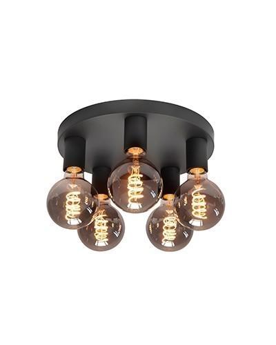 Plafondlamp Basic 5 lichts