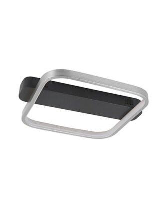 Plafondlamp Ascona 30 cm zwart/nikkel