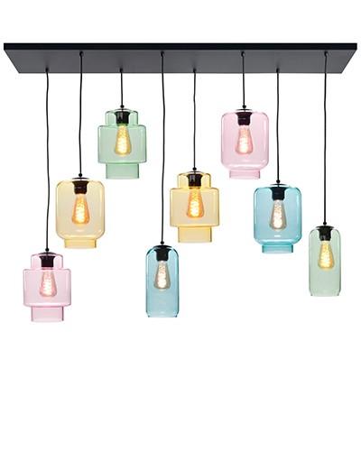 Hanglamp Fantasy multicolor 8 lichts
