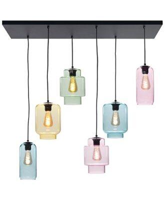 Hanglamp Fantasy multicolor 6 lichts