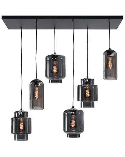 Hanglamp Fantasy smoke 6 lichts