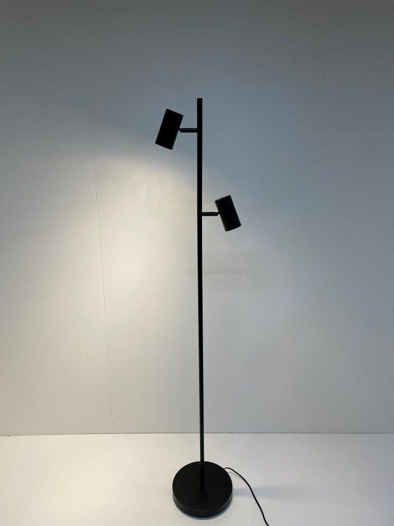 Leeslamp Burgos zwart 2 lichts