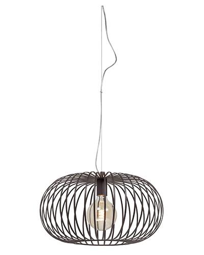 Hanglamp Bolato 50cm Bruin