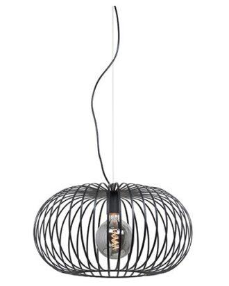 Hanglamp Bolato 50cm zwart