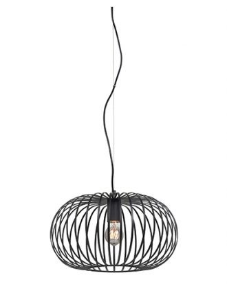 Hanglamp Bolato 40cm zwart