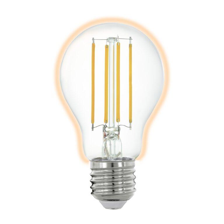 Eglo CONNECT LED FILAMENT E27 A60 6W 2700K 806LM DIMBAAR