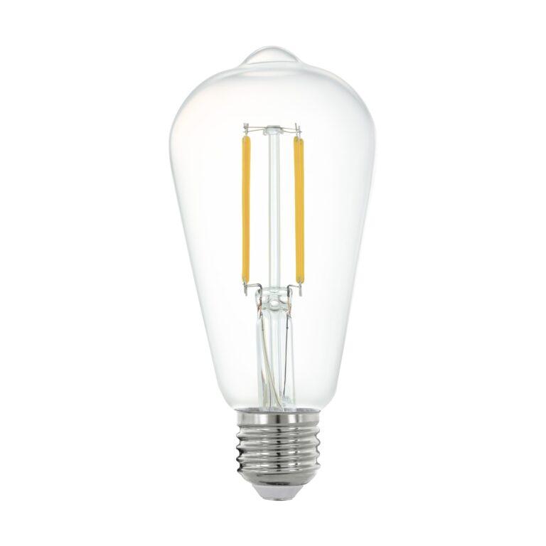 Eglo CONNECT LED FILAMENT ST64 A60 6W 2700K 806LM DIMBAAR