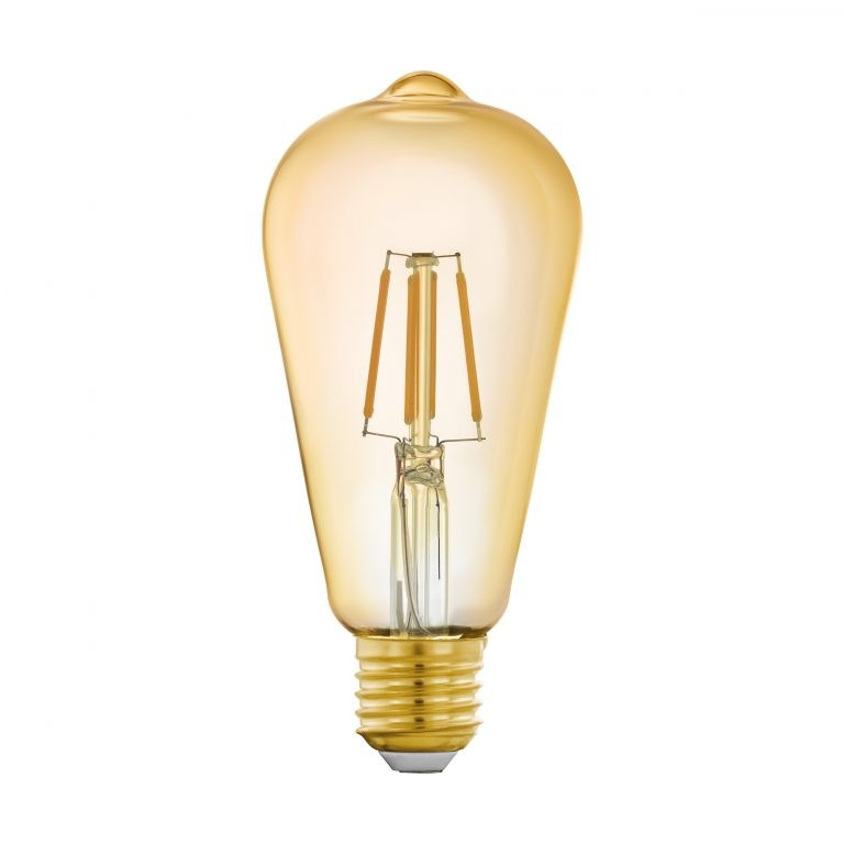 Eglo CONNECT LED FILAMENT E27 ST64 5,5W AMBER 2200K 500LM DIMBAAR