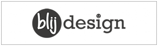 Blij Design lampen logo