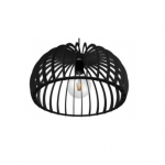 Hanglamp Memphis zwart 50 cm