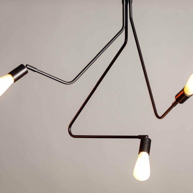 Viper hanglamp 3x E27 H175cm dia 97cm