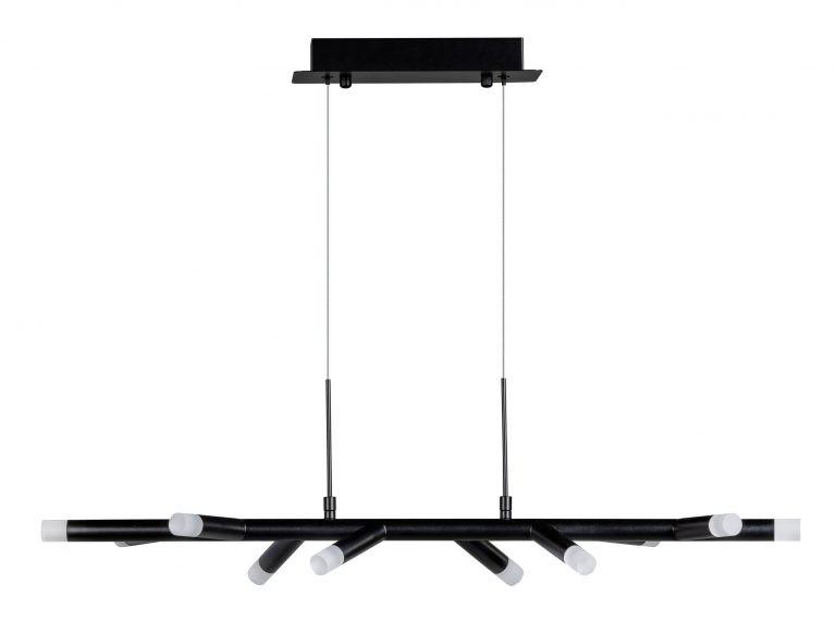 Twig hanglamp zwart 30W 2700K dimbaar 2400Lm