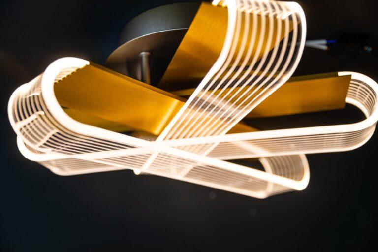 Stripes plafondlamp led 400x400x170mm 2700k 30w dimbaar 1800lm