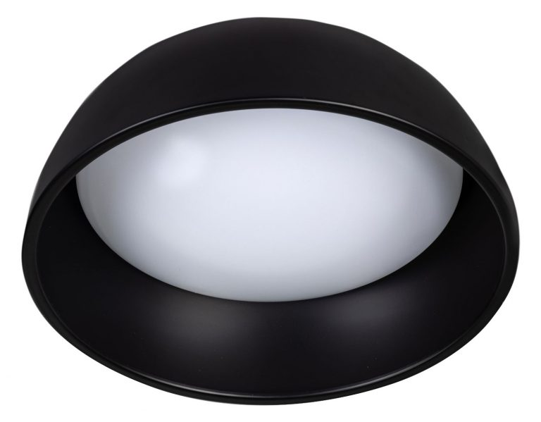 Ringo plafondlamp ø320mm zwart/rood 24W 2700K dimbaar 1920Lm