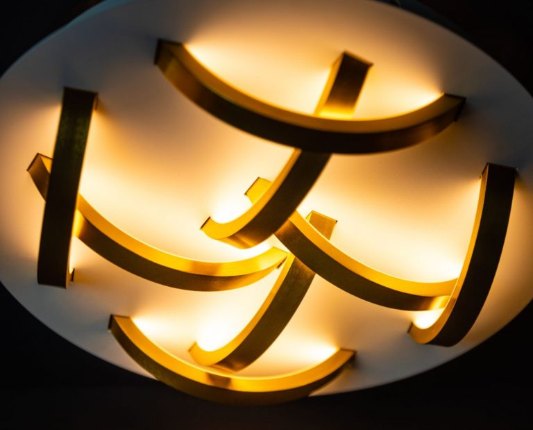 Solar plafondlamp led 400x400x90mm 2700k 32w dimbaar 1000lm