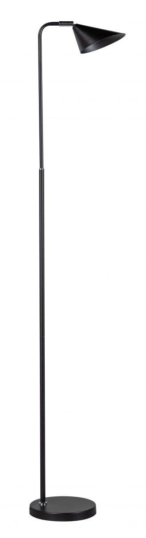 Galvani vloerlamp 1xled 3 standen zwart 500lm