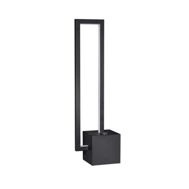 Mondrian tafellamp led 9W dimbaar zwart 3000K