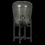 Benn Original TAFELLAMP 1x E27 zwart / gun metal glas D33 H70cm
