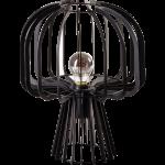Steve Curvy tafellamp 1x E27 zwart