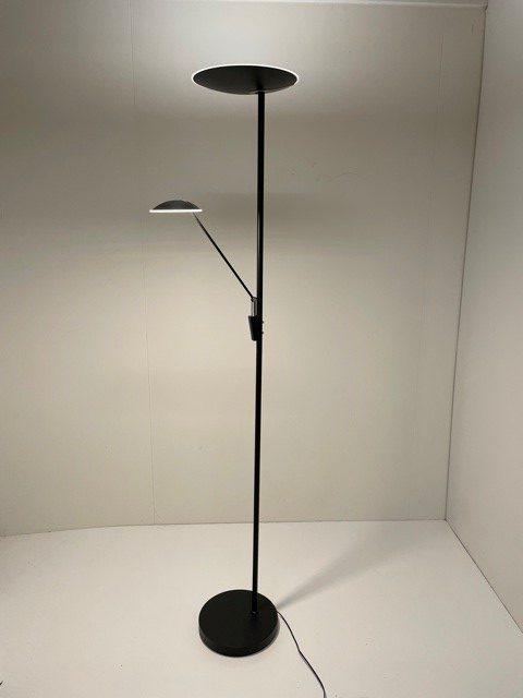 Vloerlamp Edmonton Zwart 33w + 7.5w Led