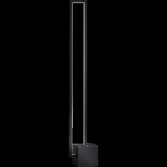 Mondrian vloerlamp led 22W dimbaar zwart 3000K