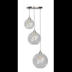 Calvello hanglamp trio 20/25/30cm 3x E27 helder