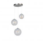 Hanglamp Baloton drie lichts helder