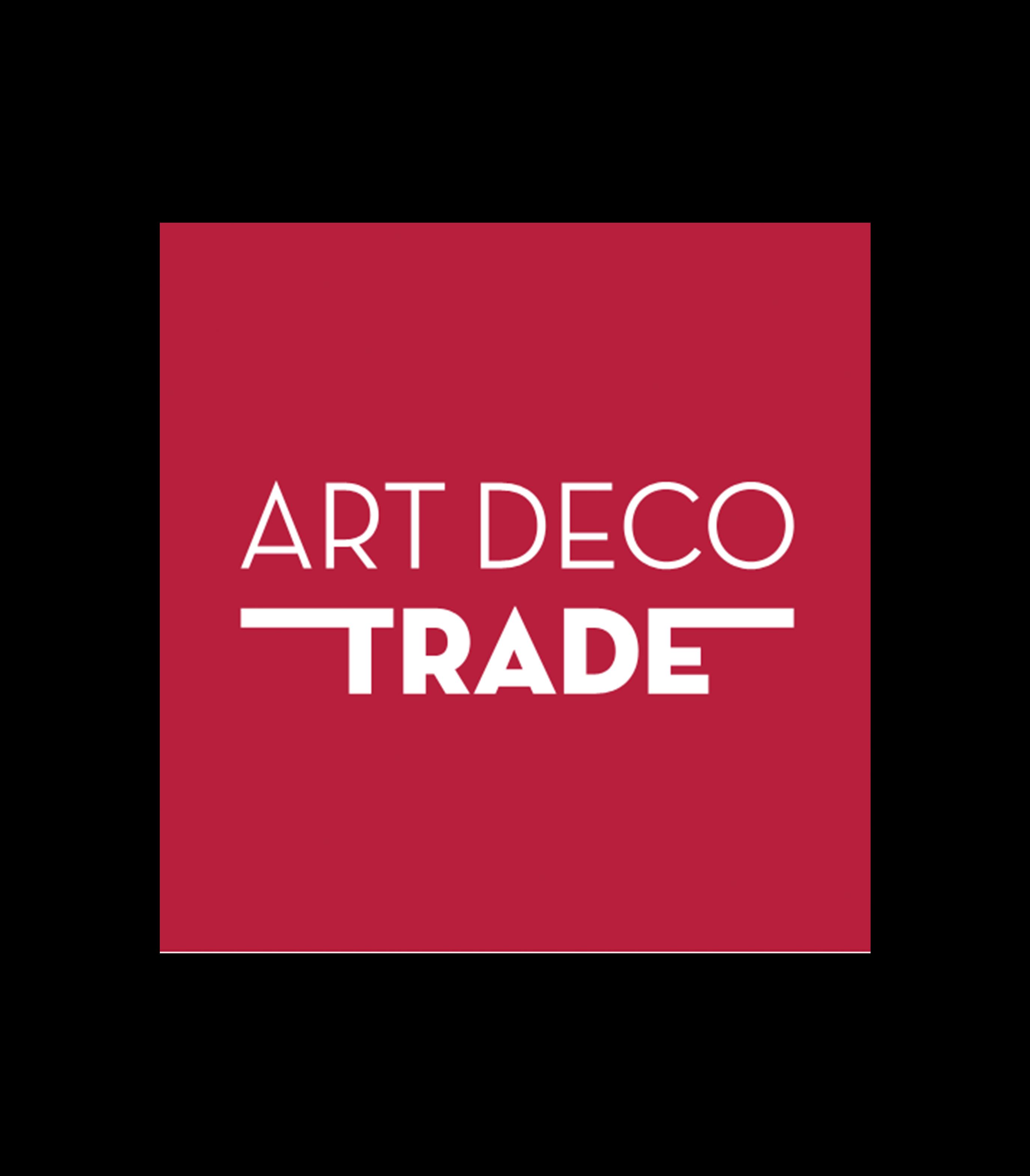 Art deco trade logo